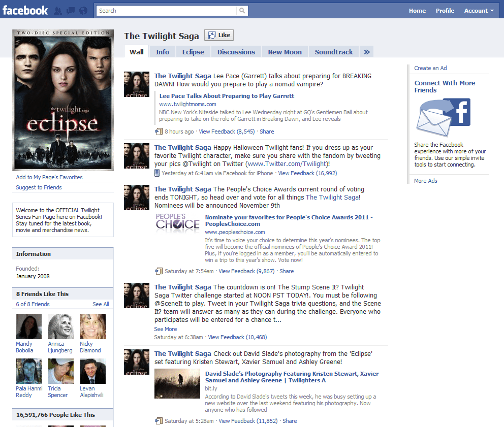 Facebook Page 9 Twilight Saga