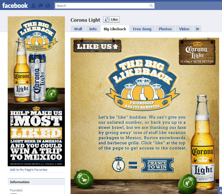 10 Best Facebook Campaigns Corona