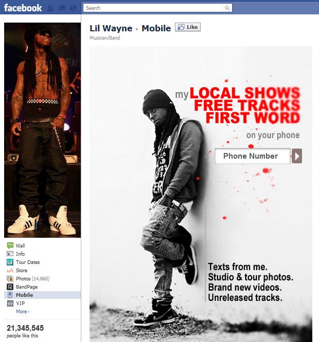 Top 10 Musicians Facebook 9 Lil Wayne