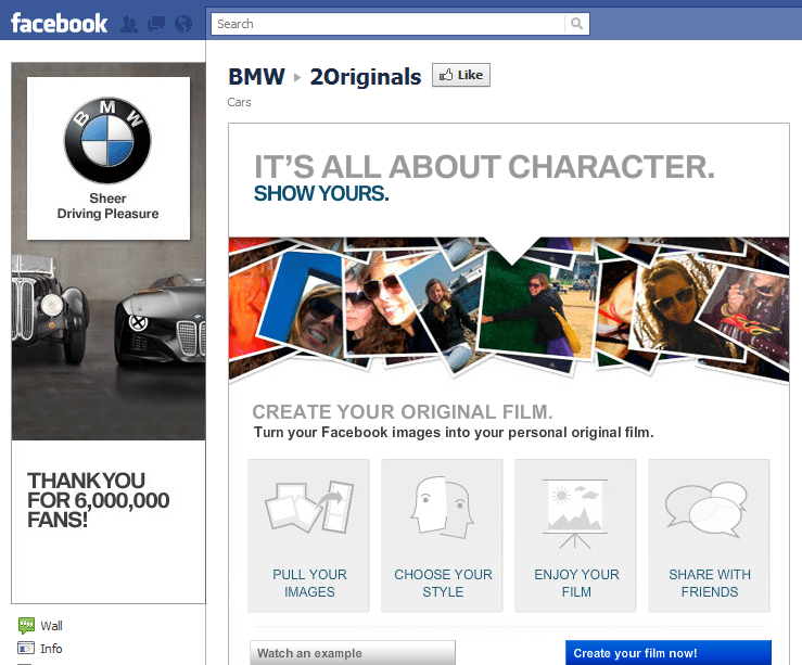 BMW Facebook Page Genius Crowd Sourcing Genius