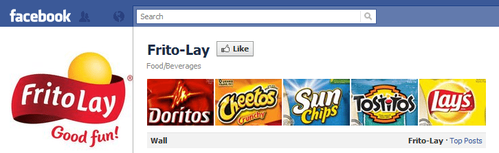 Frito-Lay Facebook Page Social Media Guinness World Records