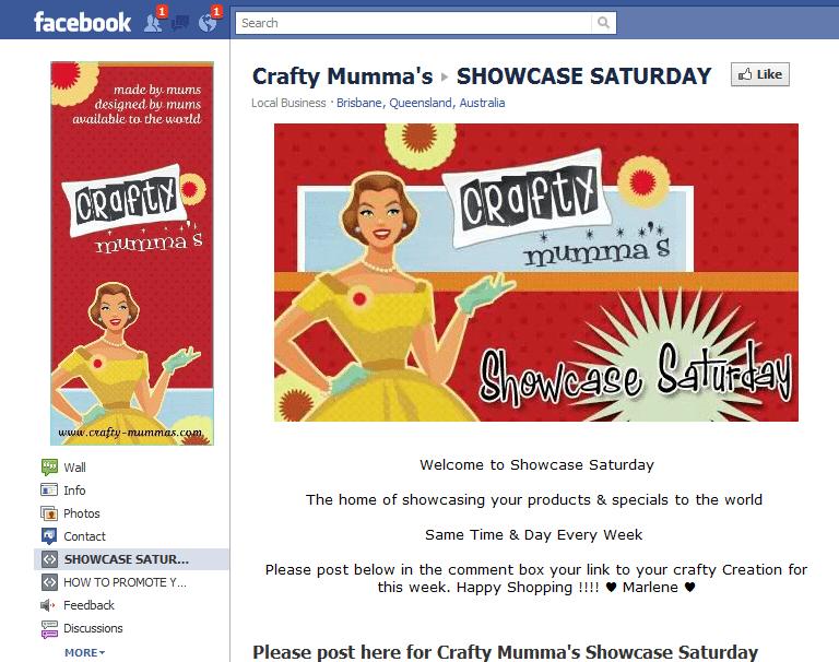 Crafty Mummas Facebook Page