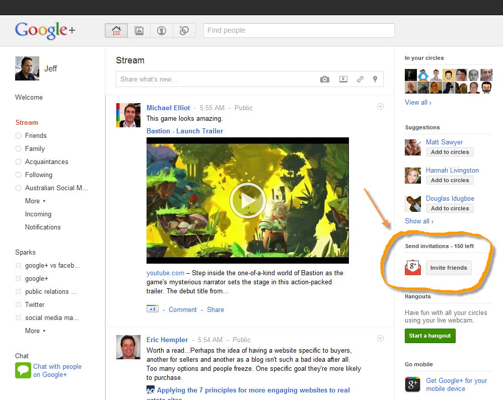 How to Invite Your Friends to Google + Using Twitter