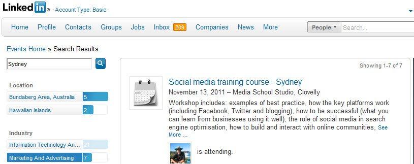 LinkedIn Networking Events
