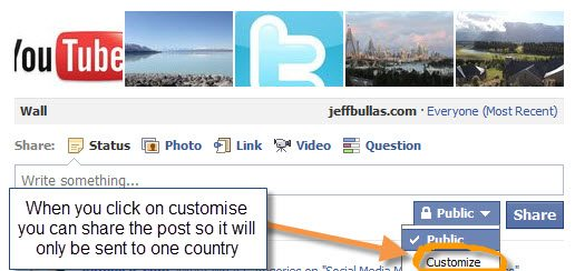 Localise your Facebook posts
