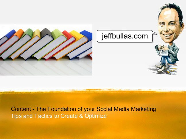Content - The Foundation of your Social Media Marketing