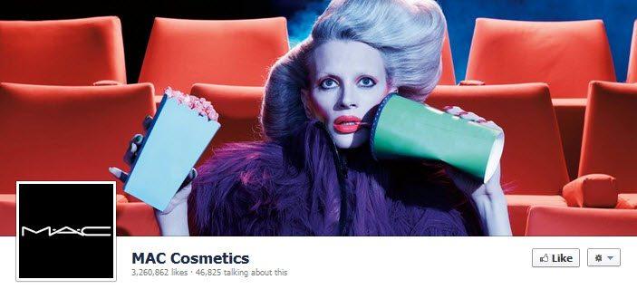 Facebook MAC Cosmetics