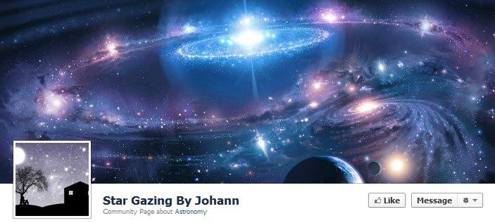 Facebook Star Gazing
