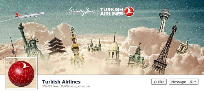 Facebook Turkish Airlines