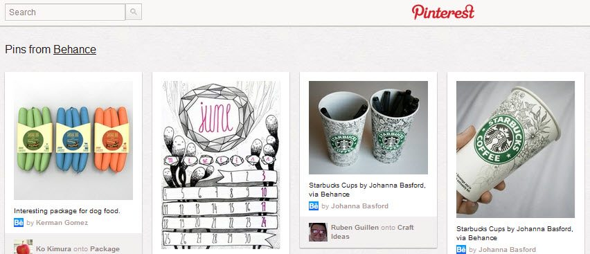 Behance Pinterest Marketing