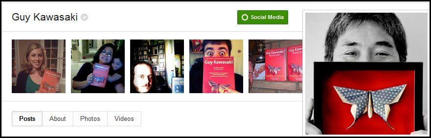 Guy Kawasaki on Google+