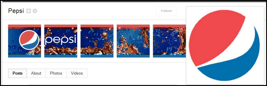 Pepsi Google+ cover photos and images