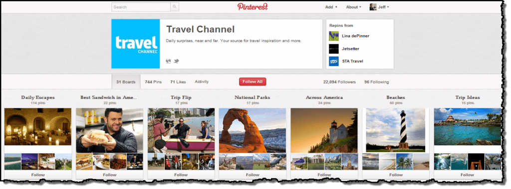 Travel Channel on Pinterest
