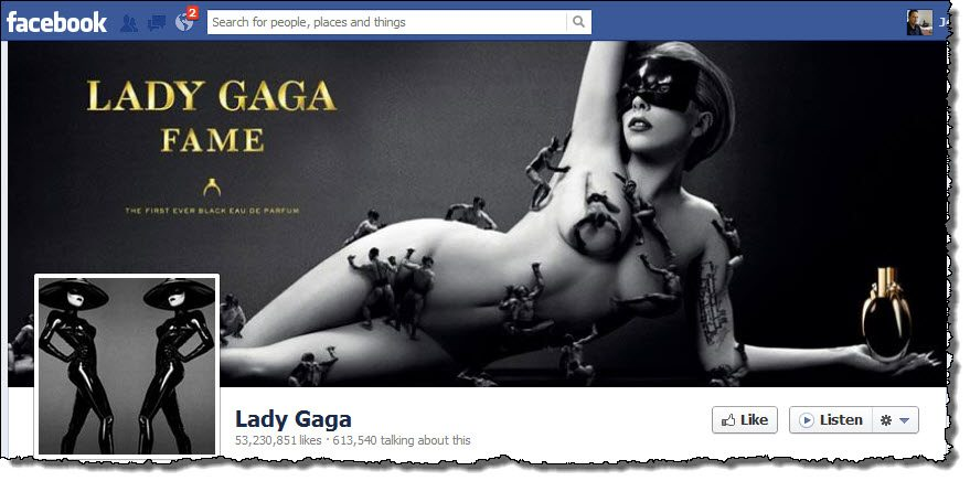 Lady Gaga Facebook Page