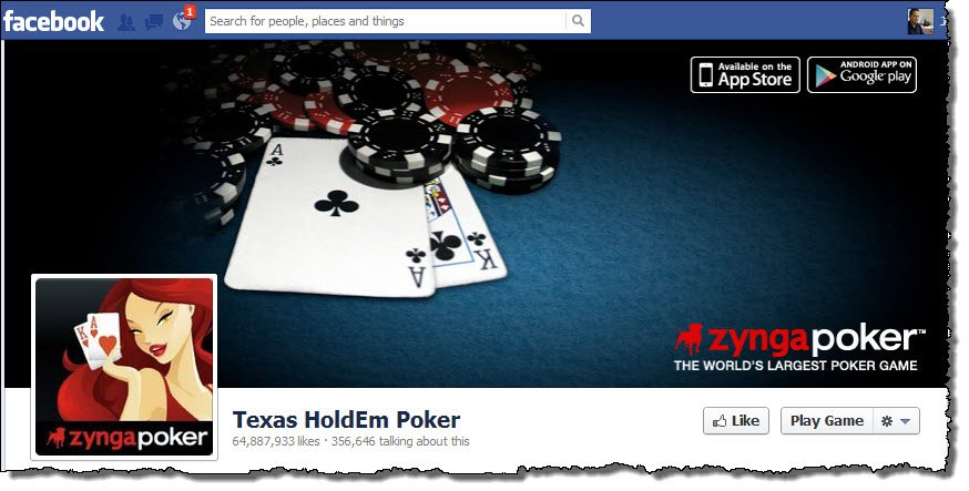 Texas HoldEm Poker page