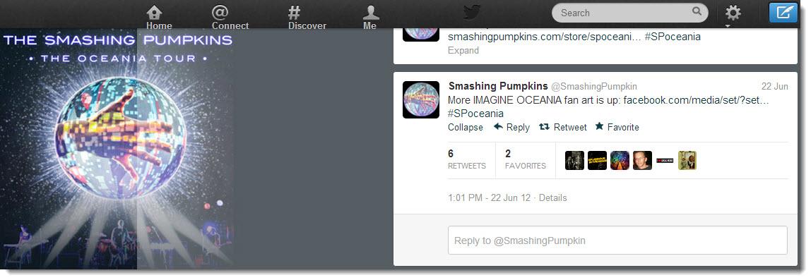 Smashing Pumpkin Social Media Competition on Twitter for Imagine Oceania