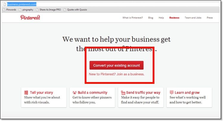 How To Setup Your Pinterest Business Page