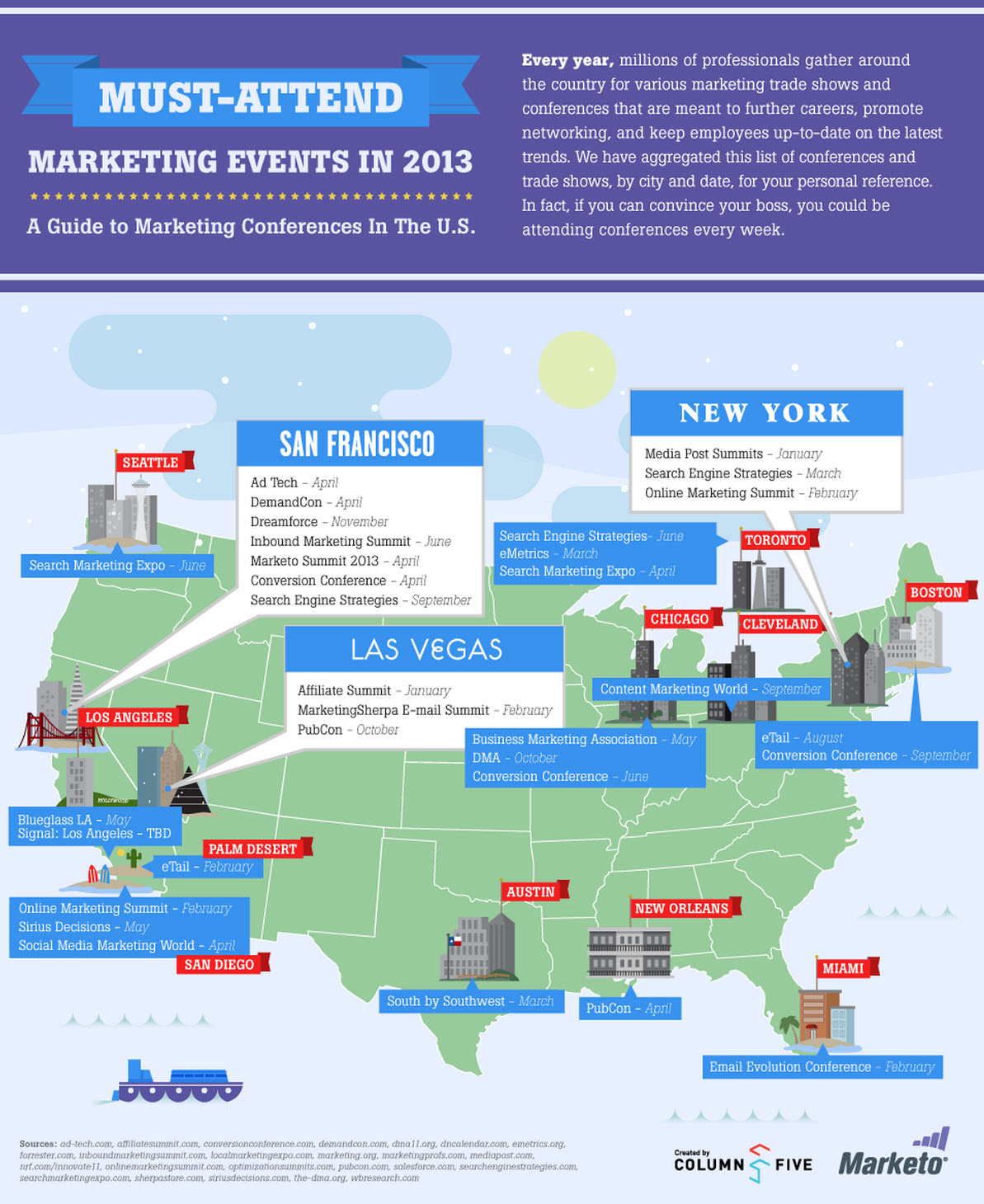30 Must Attend Marketing Events