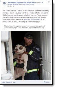 Humane society Facebook page
