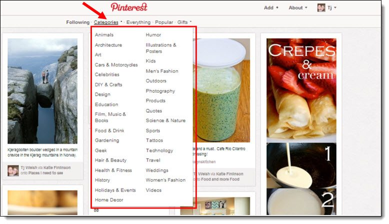 Use Pinterest to Find Guest Blog Opportunities