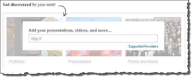 Make it visual on LinkedIn