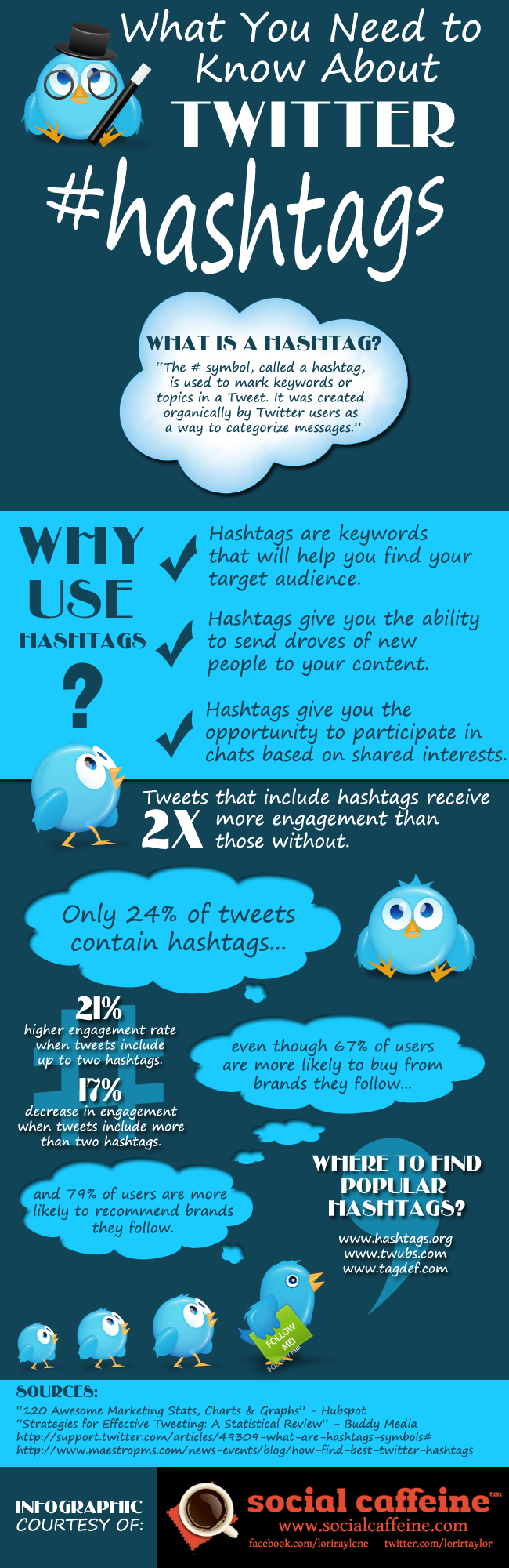 twitter hashtag infographic