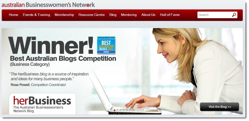 Australian Womens Business network blog case study monetizing sponsorship