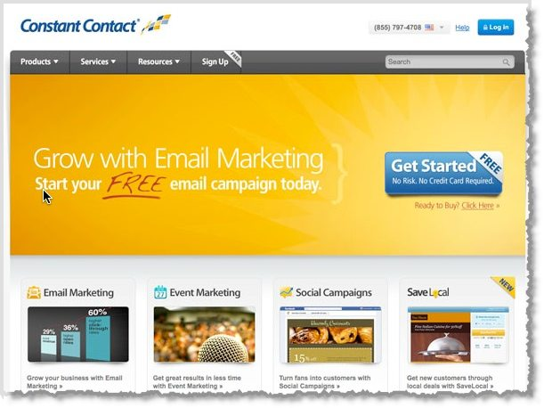 Constant Contact email marketing tool