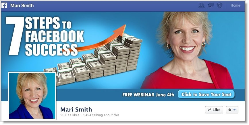 Facebook Call to Action Mari Smith