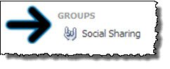 Facebook social sharing groups