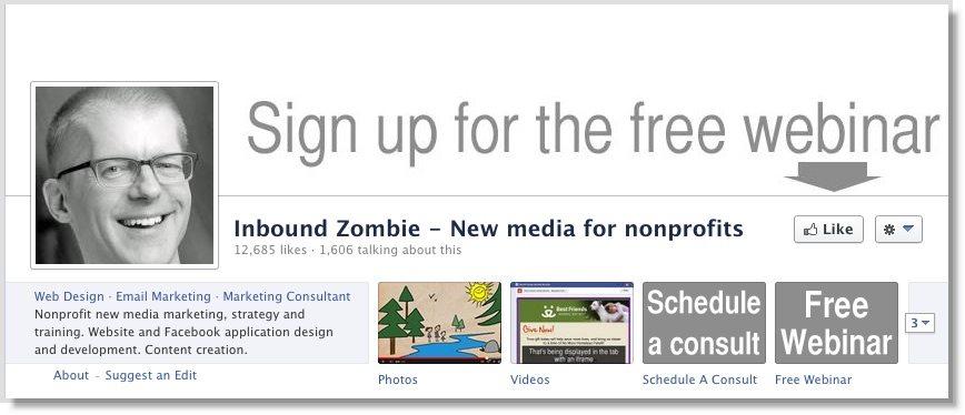John Hayon Facebook call to action