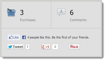The Number of Comments on the WordPress Plugin 2