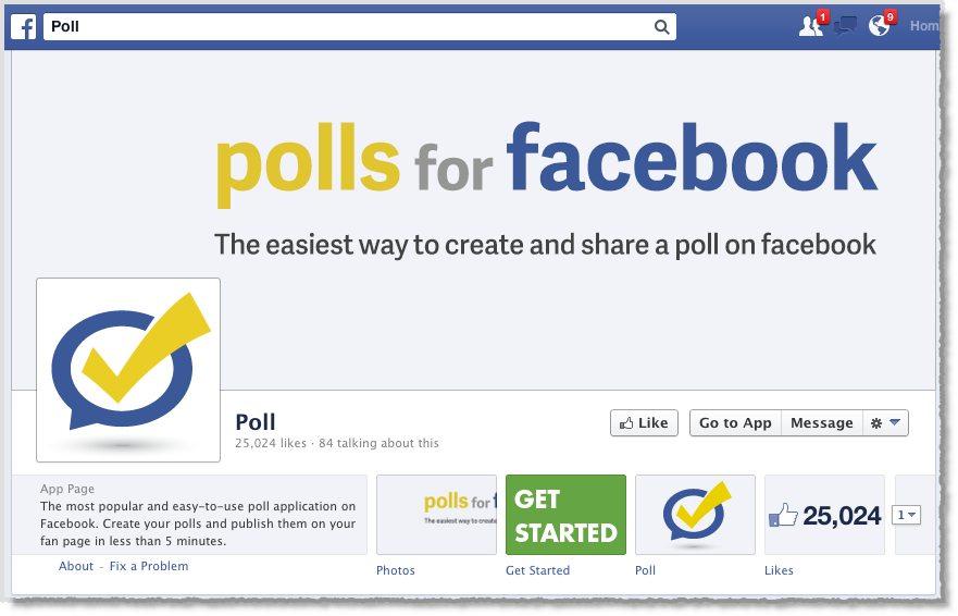 Facebook Poll tool 2