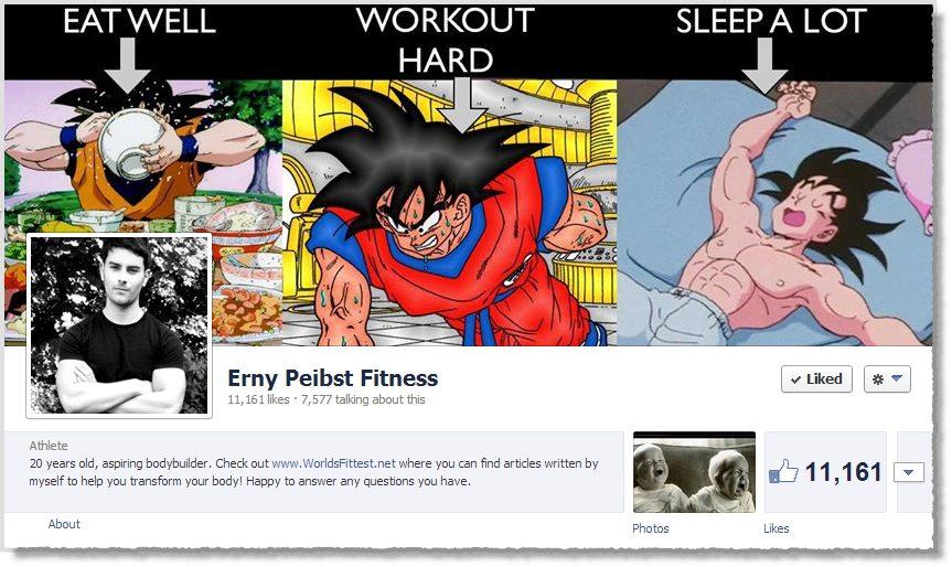Goku Erny Facebook Page