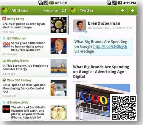 My6Sense app for social media news
