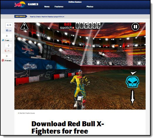 Red Bull X-Fighters The Game