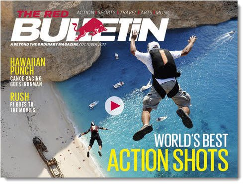 Red Bulletin Magazine