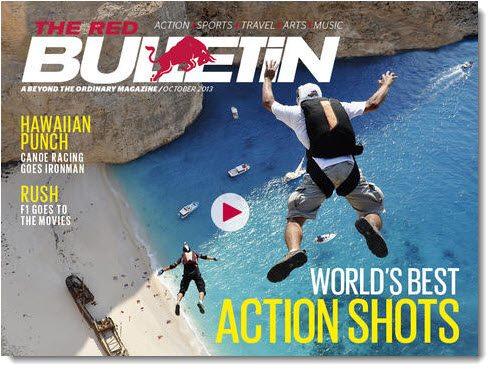 Red Bulletin Magazine