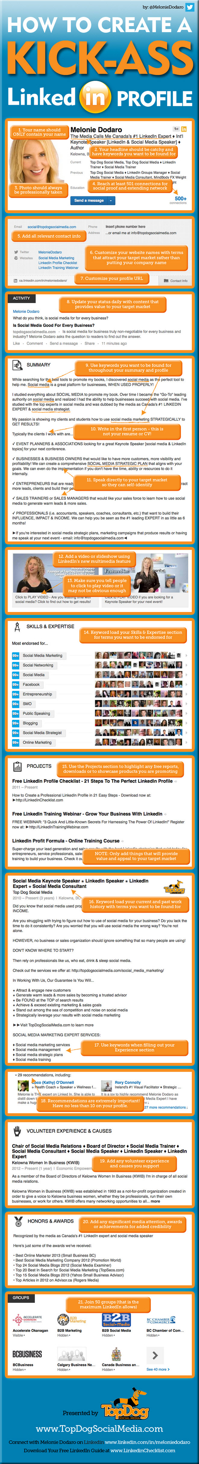 21 steps to create an awesome linkedin profile s blog how to create an awesome linkedin - Create Resume From Linkedin