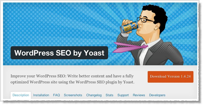 Top 10 WordPress plugins Yoast