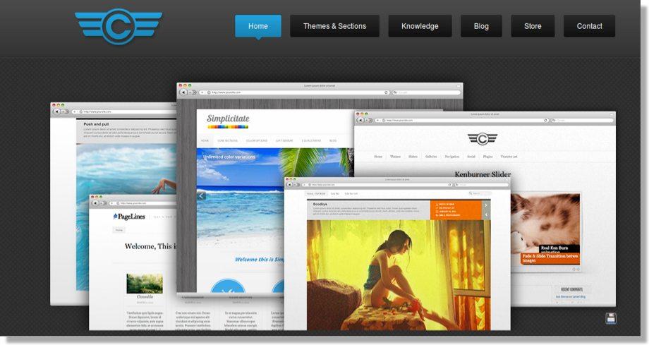 10 Inspiring WordPress Designs