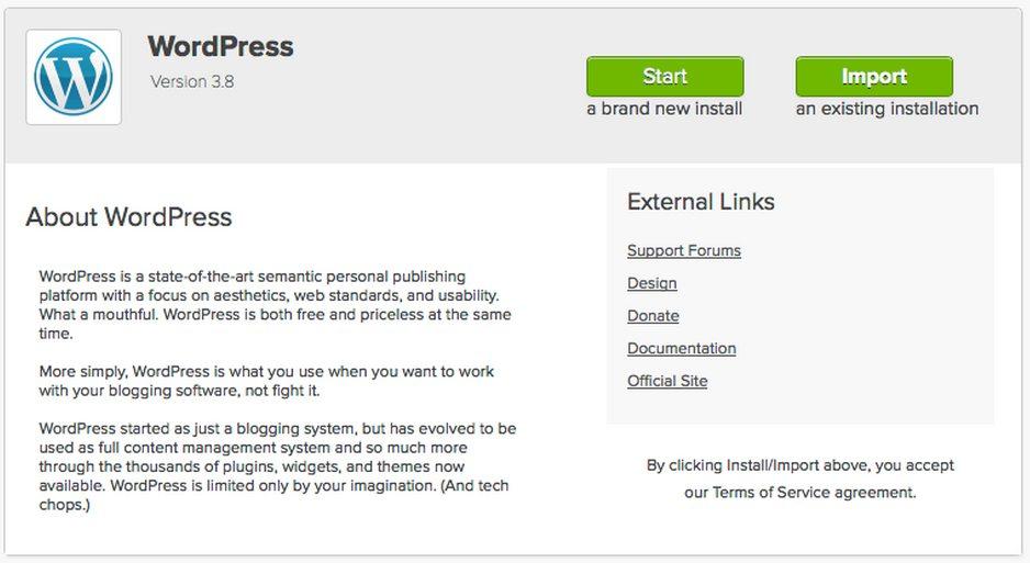How to setup a WordPress Blog
