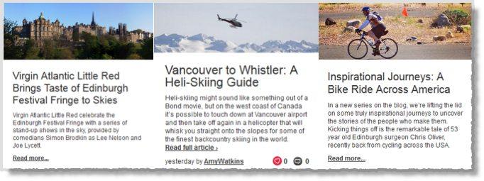 Virgin Atlantic Blog