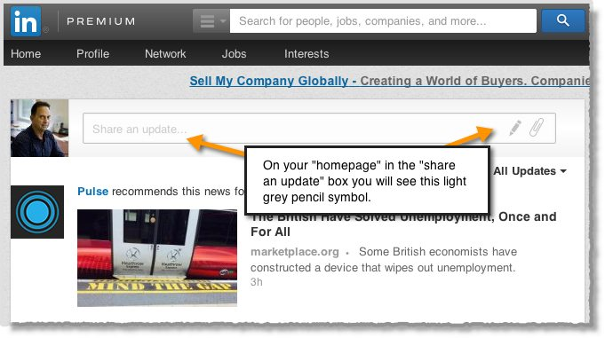 Access to LinkedIns publishing platform