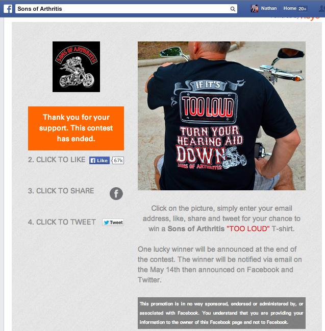 10 Facebook Contests that Captured 10,000 Emails 1