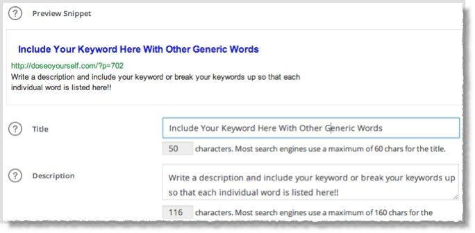 4 Key steps for seo