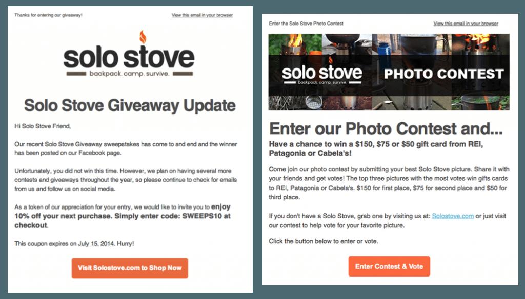 Solo Stove Facebook Campaign