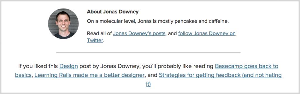 Jonas Downey screenshot