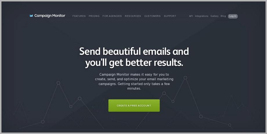 Campaign monitor web design