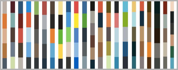 Crayon web design example color palettes